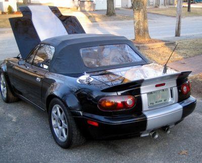 Black 2 - normal rear view