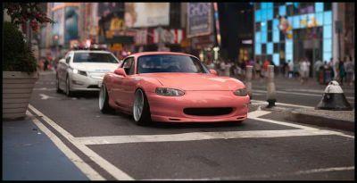 Stanced 1 - normal Mazda Miata NB Brock B1 06