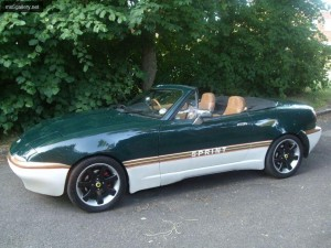 Green 2 - 94 Eunos V Spec 1 8 - lotus Elan tribute