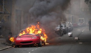 Oopsies - mazda mx5 on fire
