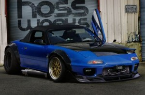 Stanced 1 - normal Mazda MX5 by Hossworks