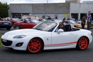 White 2 - normal MX5 NC LeMans55 Limited 1