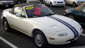 White 2 - normal Miata-stripe