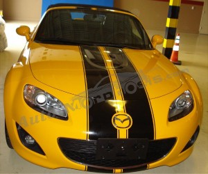 Yellow - MX5 Racing Stripes(2)