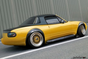 Yellow - mazda mx5    styled by jackdarton-d38icj7